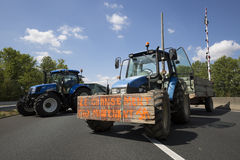 Farmers protest Stock Photography