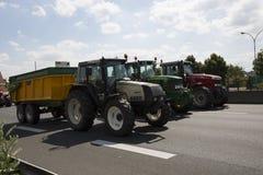 Farmers protest Stock Photos
