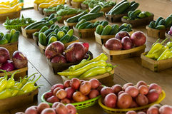 Farmers's Market Royalty Free Stock Photo