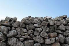 Farmers stone wall in England Stock Photography