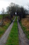 Farmers Tracks Across Countryside Royalty Free Stock Image