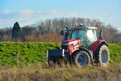 Farmers tractor Royalty Free Stock Photos