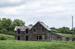 Farmhiuse abandonado Imagenes de archivo