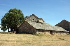 farmhouse πέτρα Στοκ Φωτογραφίες