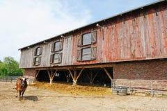 farmhouse πραγματικό Στοκ εικόνες με δικαίωμα ελεύθερης χρήσης