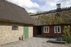 farmhouse σουηδικά Στοκ Εικόνα