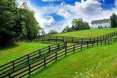 farmhouse τοπίο αγροτικό Στοκ φωτογραφία με δικαίωμα ελεύθερης χρήσης