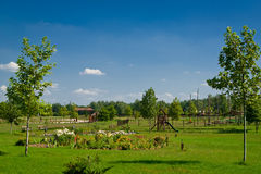 farmhouse τοπίο αγροτικό Στοκ φωτογραφίες με δικαίωμα ελεύθερης χρήσης