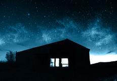 farmhouse υπερφυσικό Στοκ φωτογραφία με δικαίωμα ελεύθερης χρήσης
