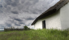 Farmhouse 01. Old, abandoned farmhouse. High density range image Royalty Free Stock Photo