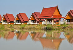 Farmhouse. There are many Farmhouse in thailand Royalty Free Stock Images