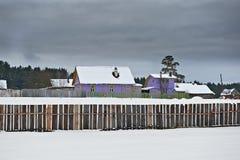 farmhouse Στοκ Εικόνες