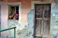 Farmhouse. Typical farmhouse of the Ligurian Apennines, Italy Stock Photos