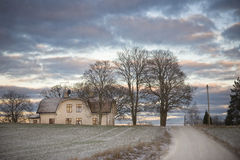 Farmhouse Royalty Free Stock Images