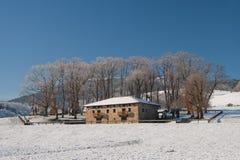 Farmhouse in Areatza Stock Photography