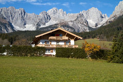 Farmhouse in Austria Royalty Free Stock Photography