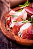 Farmhouse bacon with rosemary Royalty Free Stock Photo