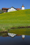 Farmhouse in Bavaria Royalty Free Stock Image