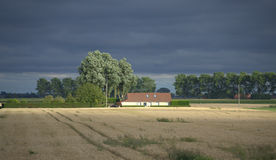 Farmhouse in Belgium Royalty Free Stock Photo