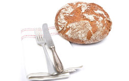 Farmhouse bread Stock Images
