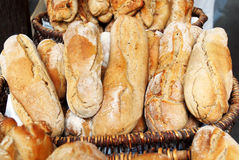 Farmhouse bread Royalty Free Stock Images
