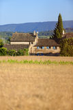 Farmhouse building in Provence Royalty Free Stock Photo