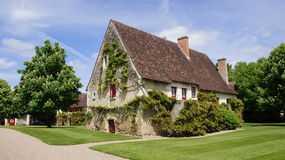 Farmhouse at Chateau Chenonceau in Loire Valley Royalty Free Stock Images