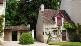 Farmhouse at Chateau Chenonceau in Loire Valley Royalty Free Stock Photos