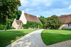 The farmhouse of Chenonceau Castle – France Stock Photo