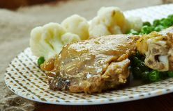 Farmhouse Chicken Casserole royalty free stock photography
