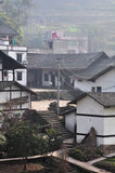 The farmhouse of chinese villages Stock Image