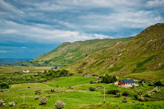 Farmhouse in Connemara, Ireland Stock Image