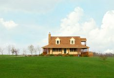Farmhouse In The Country Royalty Free Stock Photography