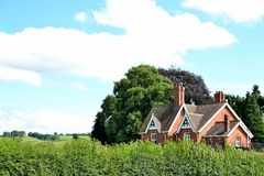 Farmhouse in England, UK Royalty Free Stock Photography
