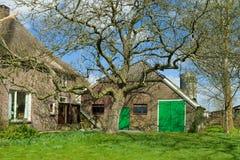 Farmhouse exterior Royalty Free Stock Image