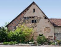 Farmhouse facade Royalty Free Stock Photography