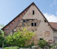 Farmhouse facade Stock Image
