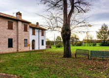 Farmhouse in Italian countryside Royalty Free Stock Photos