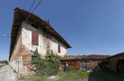 Farmhouse in the Italian countryside Royalty Free Stock Photography