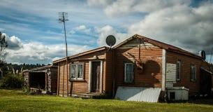 Farmhouse New Zealand Stock Photos