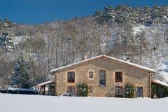 Farmhouse in Olano. Alava, Spain Stock Photos