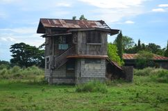 Farmhouse in the Philippines. stock photo