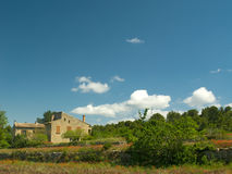Farmhouse in Provence Stock Photography