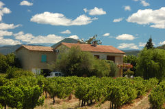 Farmhouse in Provence, France Stock Photos