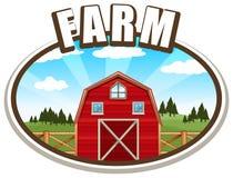 Farmhouse Stock Image