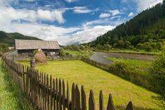 Farmhouse in Romania Stock Image