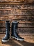 Farmhouse Rubber Boots Stock Image