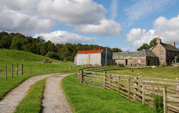 Farmhouse , Scotland  UK Royalty Free Stock Photography