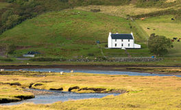 Farmhouse in Scotland UK royalty free stock images