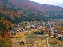 Farmhouse at shirakawago Stock Photo